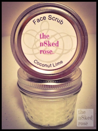 Face Scrub 4 oz Jar $5